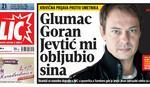 Optužio glumca Gorana Jevtića da mu je obljubio maloletnog sina
