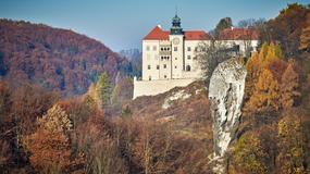 Zamek Pieskowa Skała po 3 latach prac konserwatorskich odzyskał dawny blask
