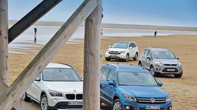 VW Tiguan kontra BMW X1, Ford Kuga i Honda CR-V: duża moc to nie wszystko