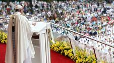 Urodziła podczas papieskiej mszy. Tak dziękuje Franciszkowi