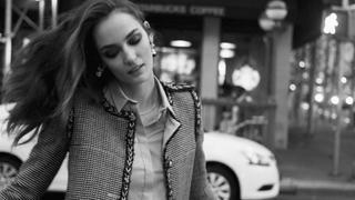 """Zuza Bijoch w sesji poświęconej Katharine Hepburn w meksykańskim """"Vogue"""""""