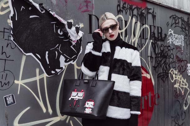 Zdjęcie polskiej blogerki na stronie Karla Lagerfelda