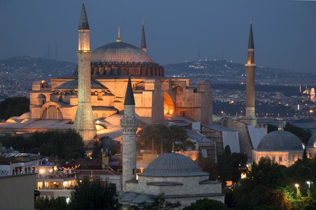 Stambuł, Hagia Sophia. Najpiękniejsze miejsca Turcji