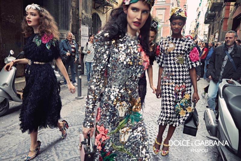 Dolce & Gabbana: kampania jesień-zima 2016/17