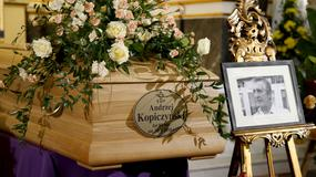 Uroczystości żałobne Andrzeja Kopiczyńskiego. Aktor spoczął na Cmentarzu Powązkowskim w Warszawie