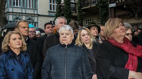 Bronisław Komorowski i Donald Tusk przyjechali do Sopotu, by uczcić pamięć Władysława Bartoszewskiego