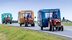 Wyjątkowa pielgrzymka na traktorach z Polski do Lisieux we Francji
