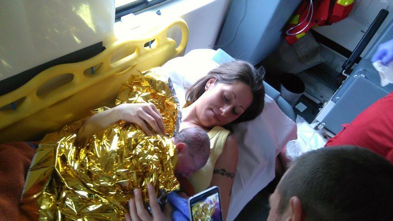 A szülők nagyon hálásak a mentőknek / Forrás: Facebook