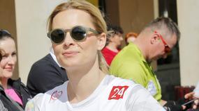 """Ciężarna Odeta Moro i inne gwiazdy wzięły udział w """"Biegu po Nowe Życie"""""""