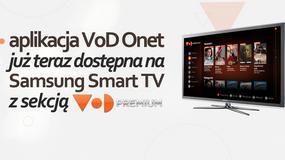 Aplikacja VoD Onet dostępna na Samsung Smart TV