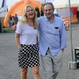 Grażyna Torbicka na festiwalu Dwa Brzegi w Kazimierzu