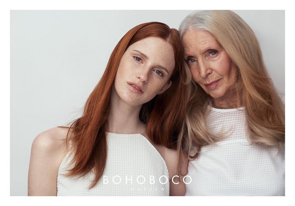 Helena Norowicz i Magdalena Jasek dla Bohoboco