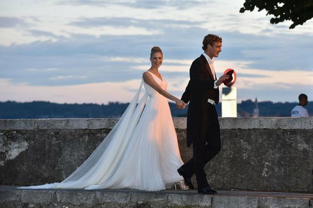 5 spektakularnych sukni ślubnych Beatrice Borromeo