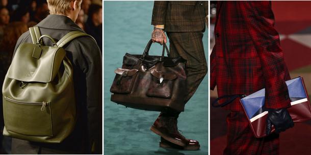 Plecak, torba czy kopertówka? Męskie akcesoria na jesień / zimę 2015