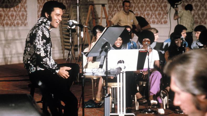 Elvis koncert 1972-ben / Fotó: Northfoto