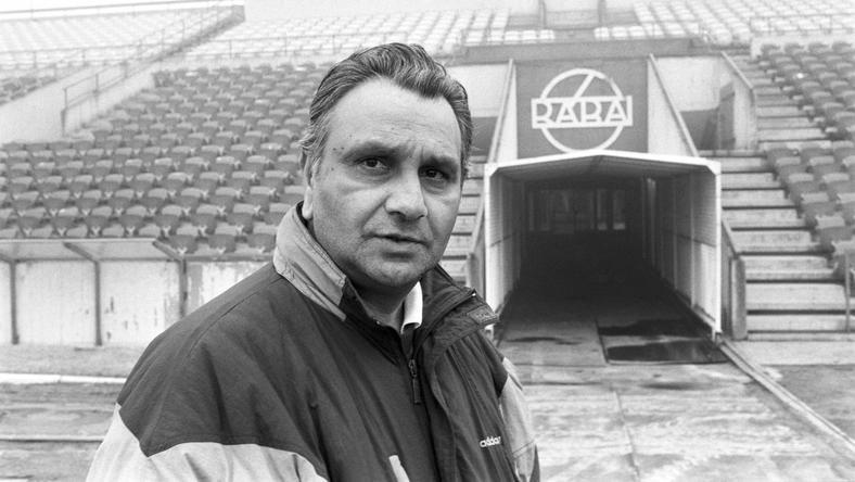 A Mágu legnagyobb sikereit a Rába ETO-val érte el /Fotó: MTI-Matusz Károly