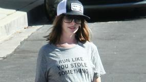 Anne Hathaway w zaawansowanej ciąży