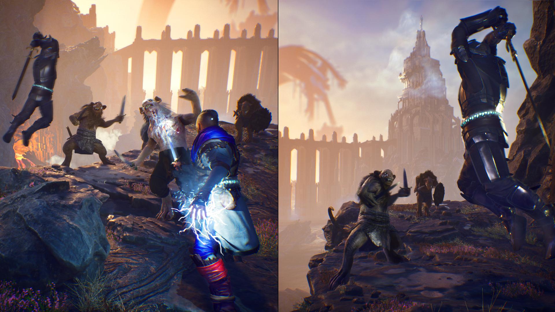 Svet The Last Oricru je hybridom stredoveku a sci-fi.