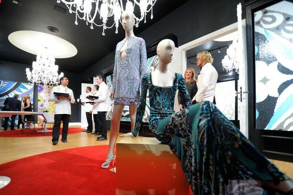 Prezentacja ceramiki Pucci X Bisazza w Miami / fot. Getty Images