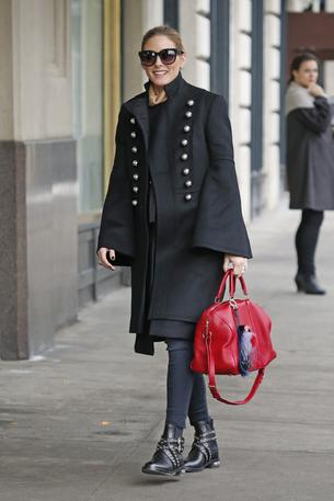 Best look: Olivia Palermo w płaszczu Burberry