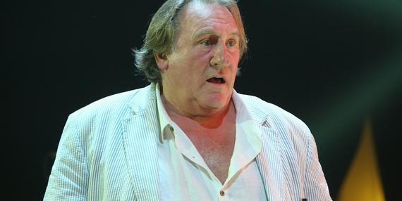 Incydent z udziałem Depardieu. Wszystko przez dużą nadwagę aktora?