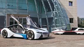 BMW Vision Efficient Dynamics i Pininfarina Modulo - Powrót do przyszłości