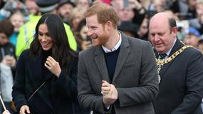 Książę Harry i Meghan Markle z wizytą w Edynburgu. Jak się prezentowali?