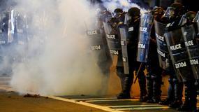 Kolejna noc protestów w Charlotte po śmierci Afroamerykanina