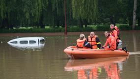 Najwyższy stan zagrożenia powodziowego w środkowej Francji