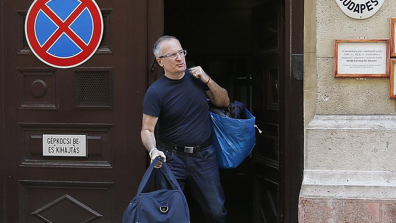 Amióta Simon Gábort kiengedték a börtönből, lakhelyelhagyási tilalom alatt állt / Fotó: RAS-archív