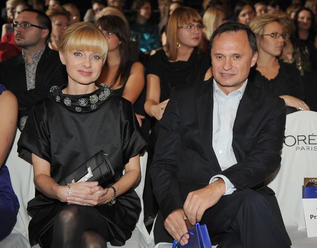 Jolanta Pieńkowska z mężem Leszkiem Czarneckim