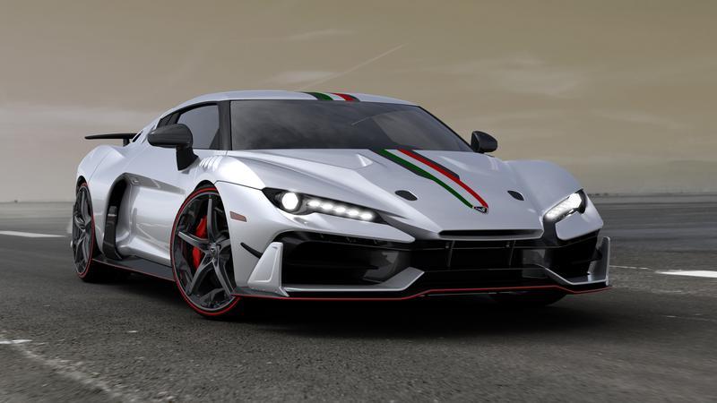 Italdesign z silnikiem V10