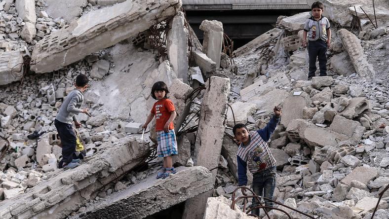Ideje korán kell felnőnie a szír gyerekeknek / Fotó: Northfoto