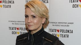 Marta Kuligowska w czerni na premierze teatralnej. Jak wypadła?