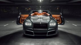 Rolls Royce Dawn – jego szerokość