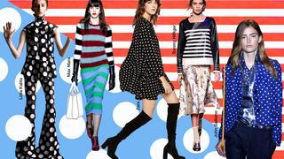 #RadzikowskaRadzi: Kropki i paski zawsze modne