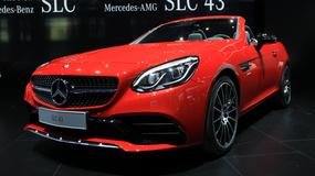 Mercedes SLC - nowa twarz modelu (Detroit 2016)