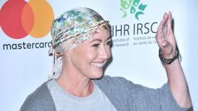 Shannen Doherty na czerwonym dywanie po chemioterapii