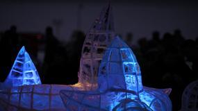 Festiwal rzeźb lodowych
