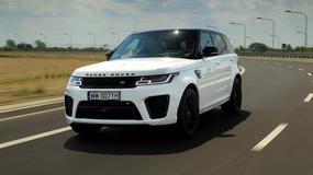 Range Rover Sport SVR - dwuipółtonowa katapulta