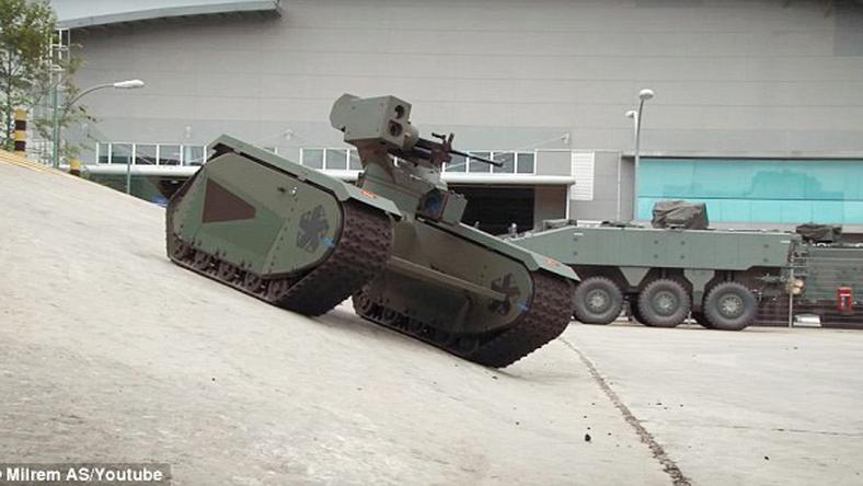 A fegyvercég most dobta piacra a tankot