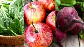 Produkty, które usuwają metale ciężkie z organizmu: jabłka, szpinak, buraki