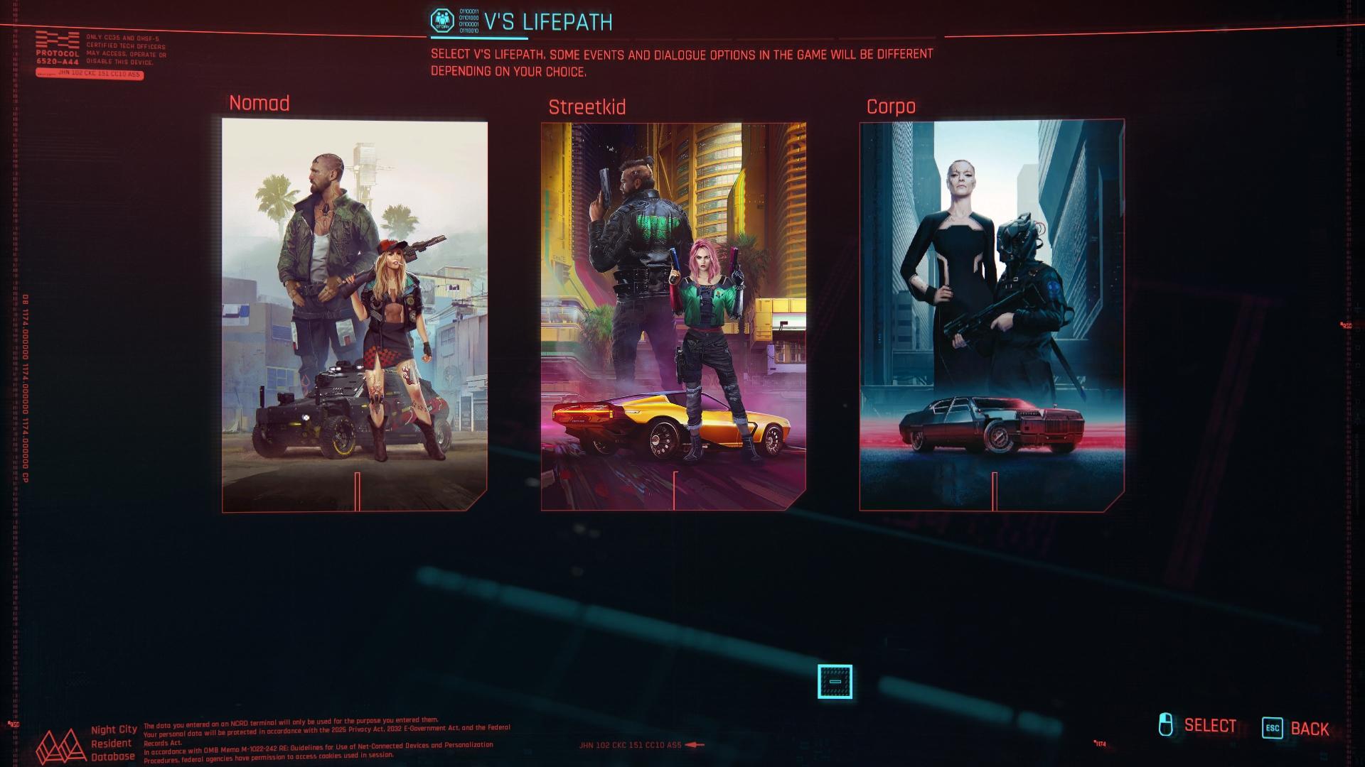 Na začiatku hry si nadizajnujeme postavu a vyberieme jeden z troch úvodov.