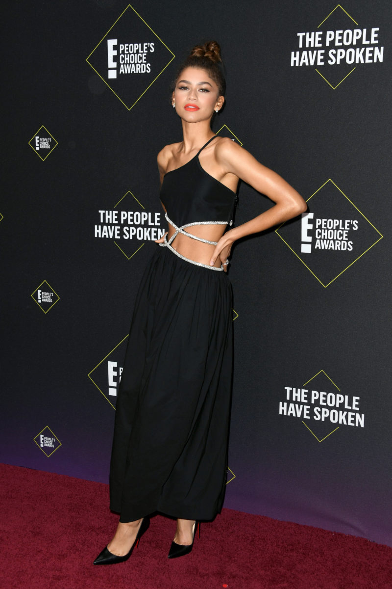 Zendaya didn't go wrong in black [Essence]
