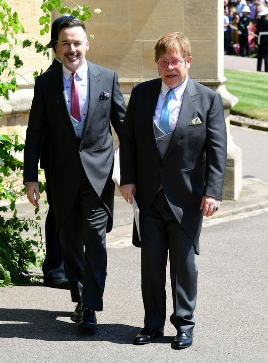 David Furnish és Sir Elton John /Fotó: GettyImages