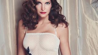 Nowy projekt Stephanie Seymour. 48-letnia modelka założyła markę bieliźnianą