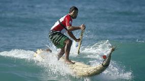 """Kabalito"" - daska za surfing od trske"