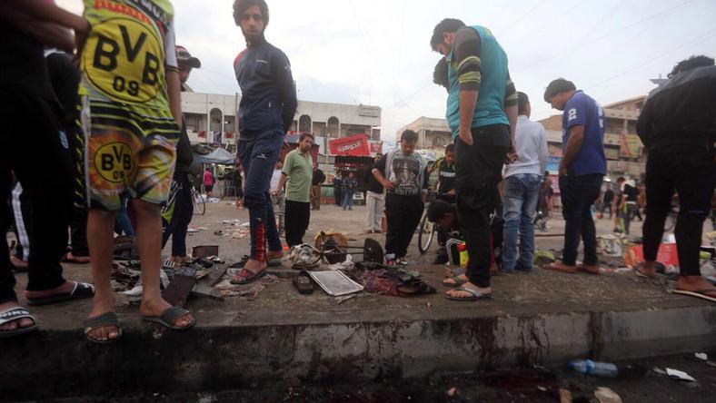 Irakiak a Bagdad legnagyobb síita negyedében / Fotó: MTI