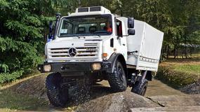 Mercedes Unimog to najlepsza terenówka świata