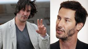 Keanu Reeves przytył i wygląda niekorzystnie